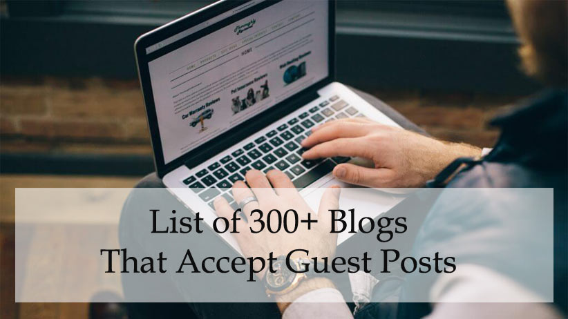 List Of Travel Blogs That Accept Guest Posts
