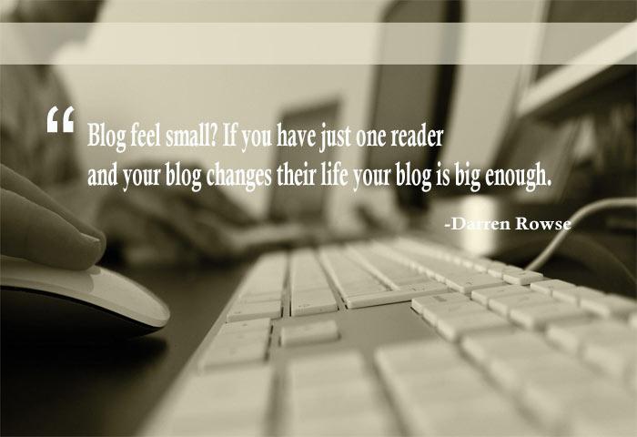 Inspiring Blog Quotes