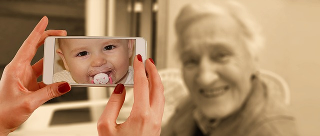 Technology also caters to the older generations.