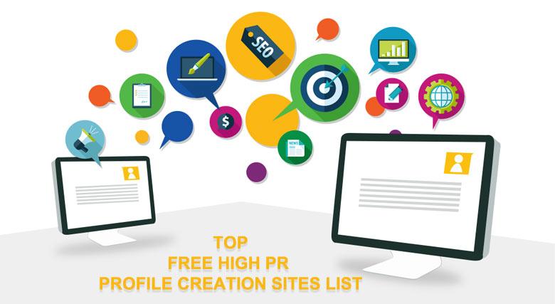 free Profile Creation Sites List 2017