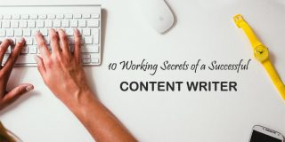 10 Working Secrets of a Successful Content Writer