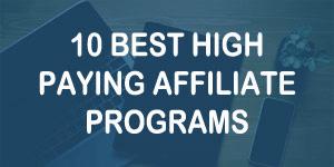 best affiliate programs