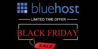 Bluehost Black Friday Deals