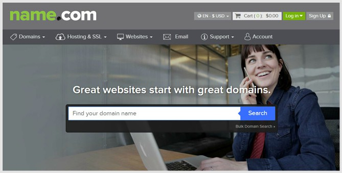 Name.com cheapest domain registrar