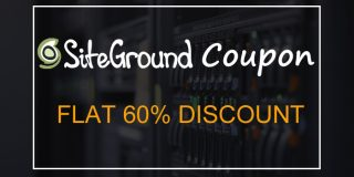SiteGround Coupon Code with 60% discount