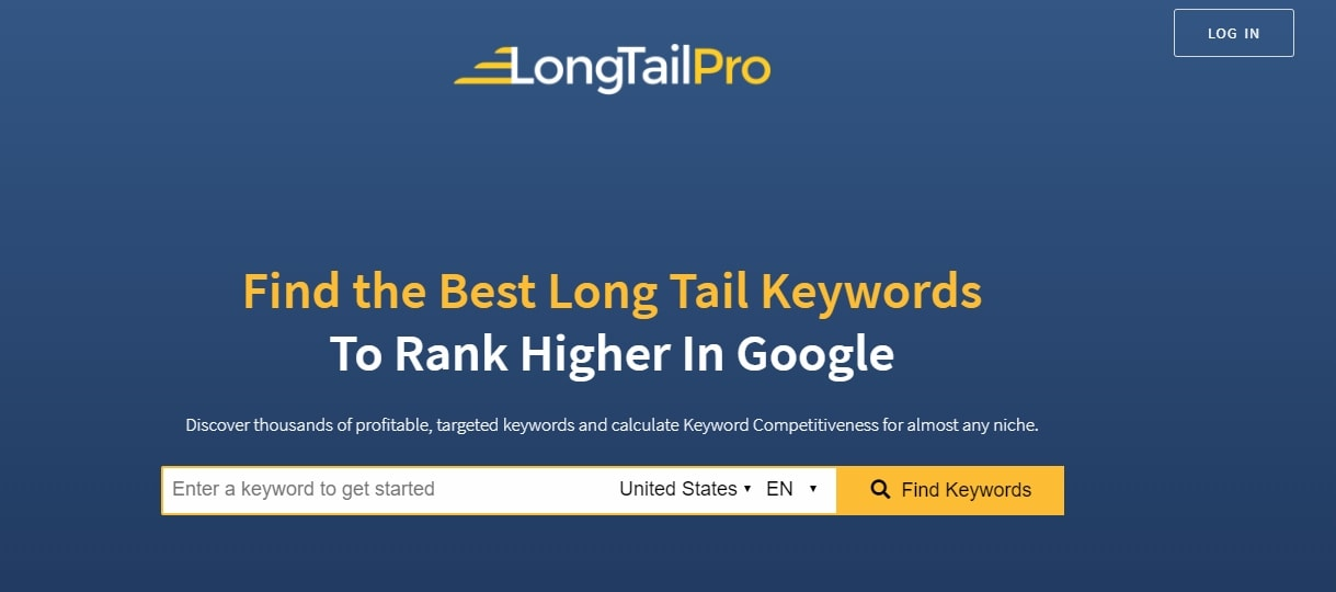 LongTailPro Affiliate