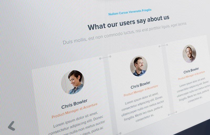 Add customer feedback to your website