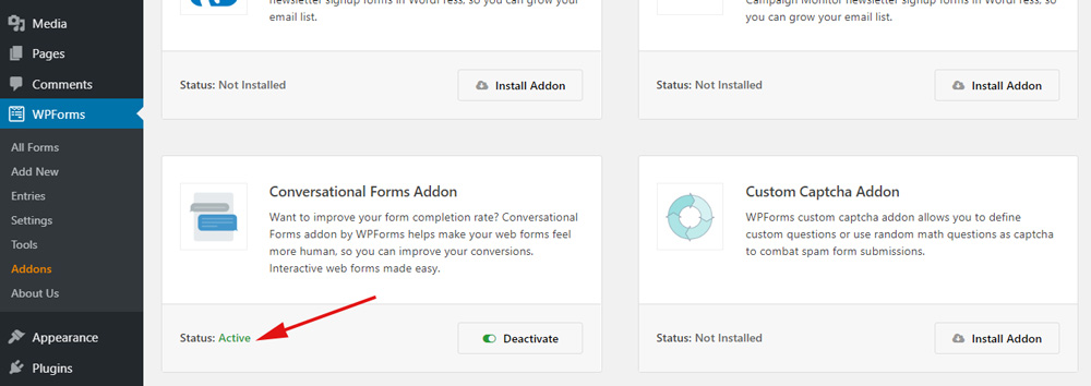 Conversational Form addon