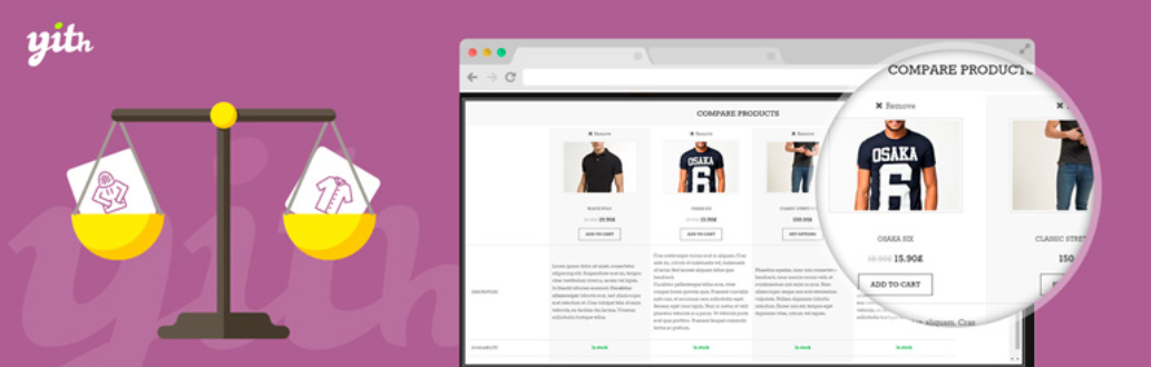 YITH WooCommerce Compare