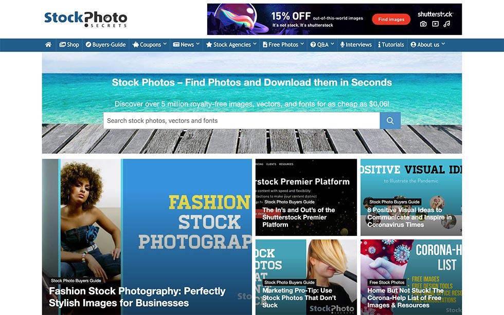 Stock Photo Secrets