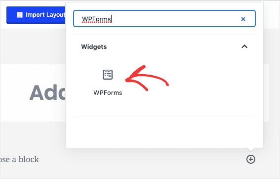 Add WPForms