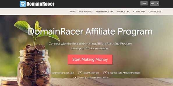 DomainRacer-highest-paying-web-hosting-affiliate-program
