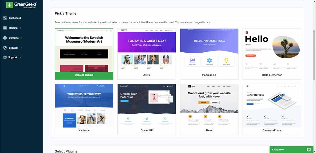 Pick WordPress theme